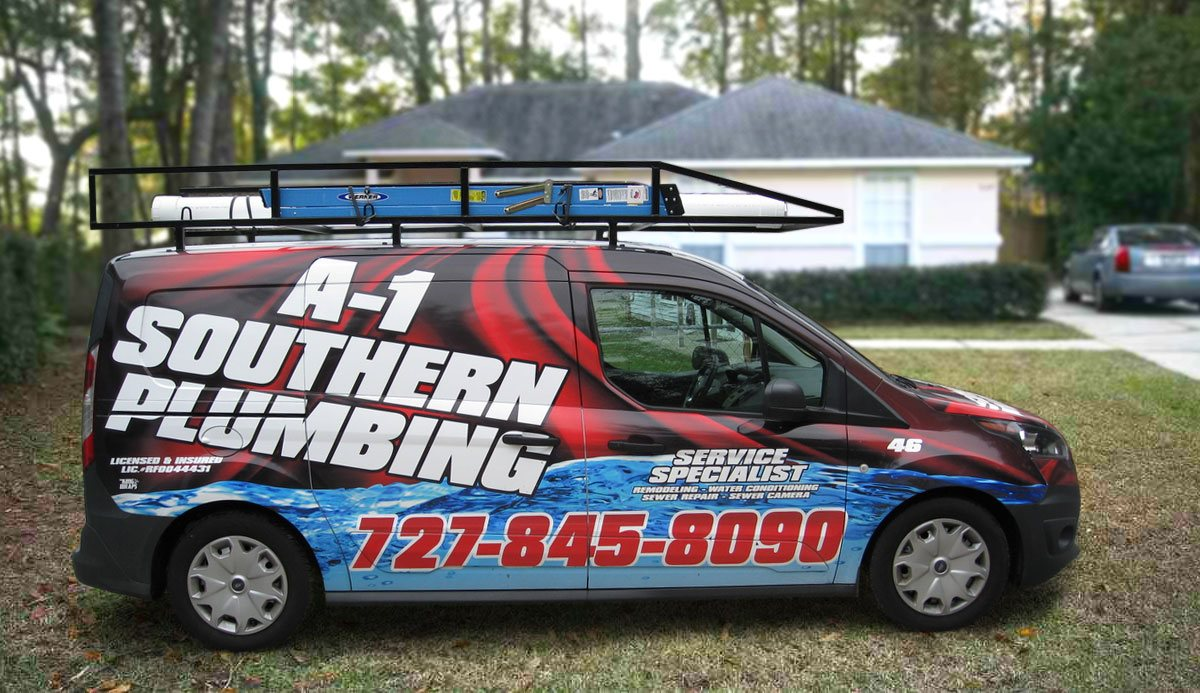 A-1 Southern Plumbing Vehicle