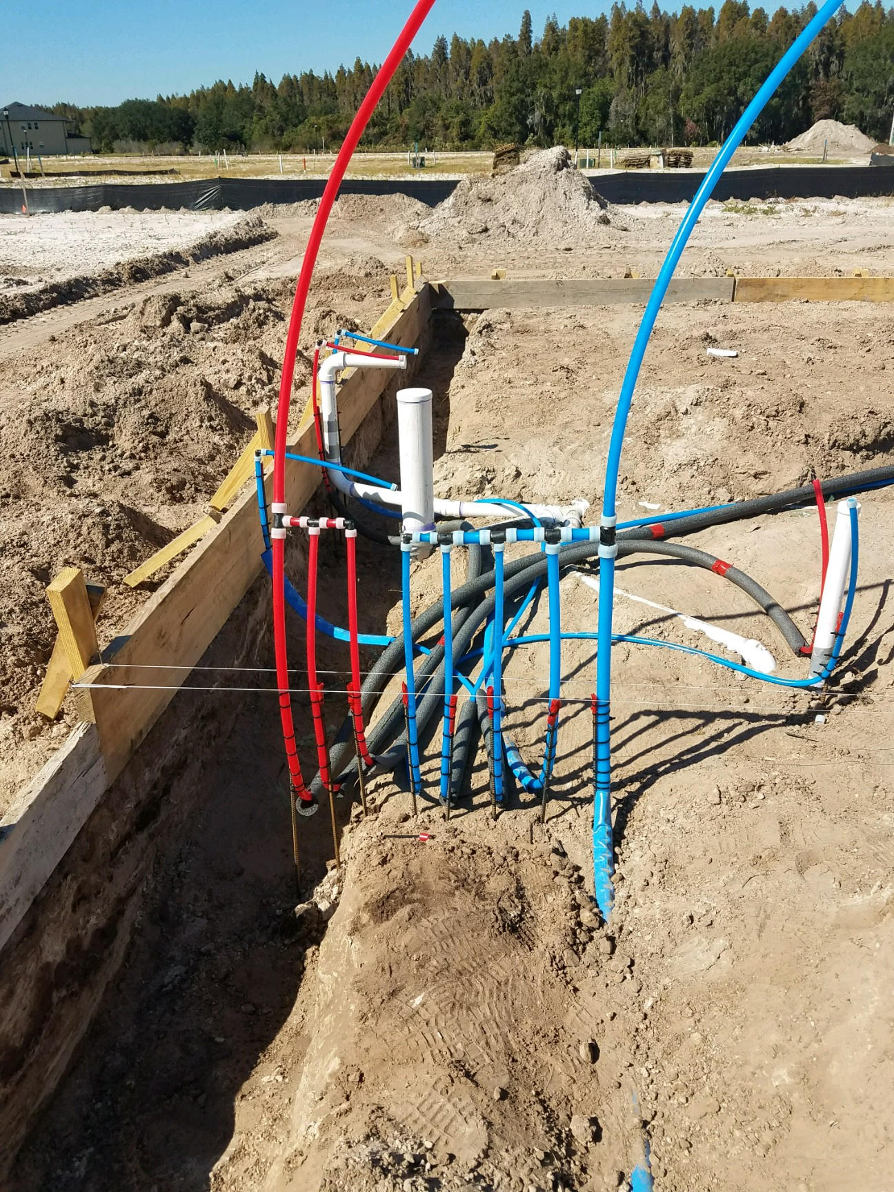 New Construction Plumbing Project A-1 Southern Plumbing