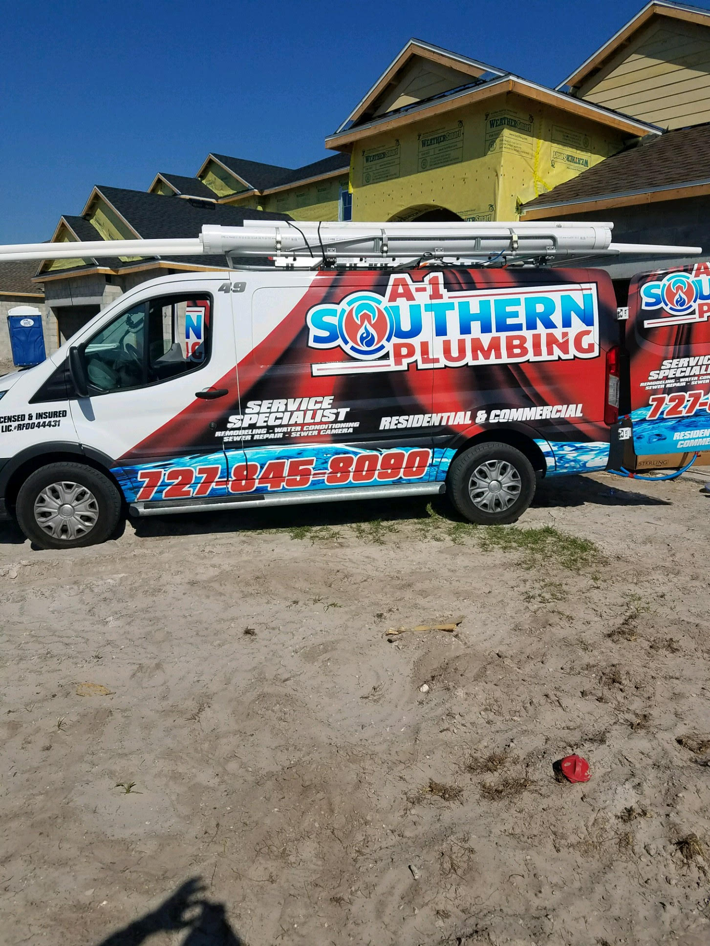New Construction A-1 Southern Plumbing