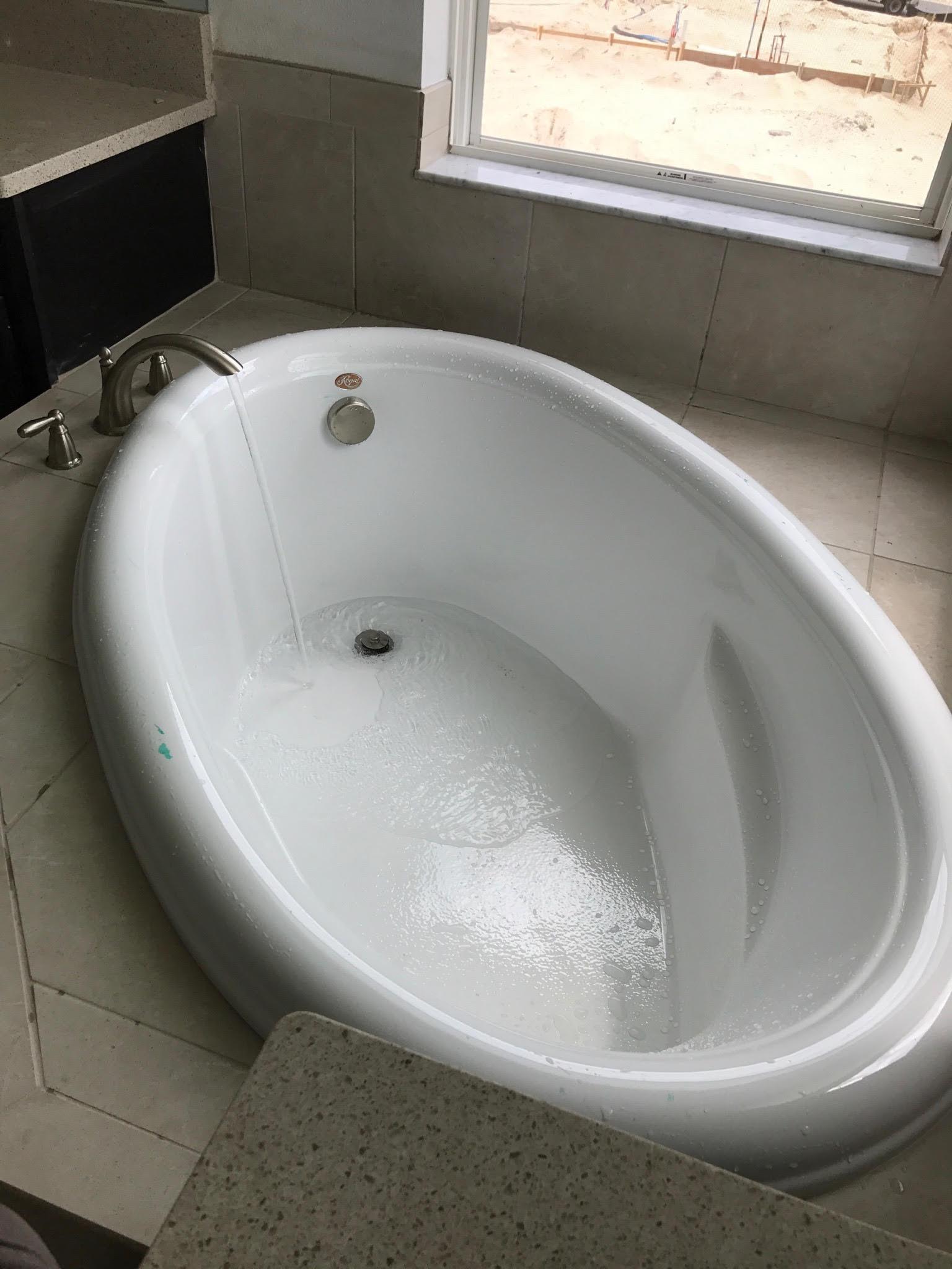 A-1 Southern Plumbing Bathtub Install