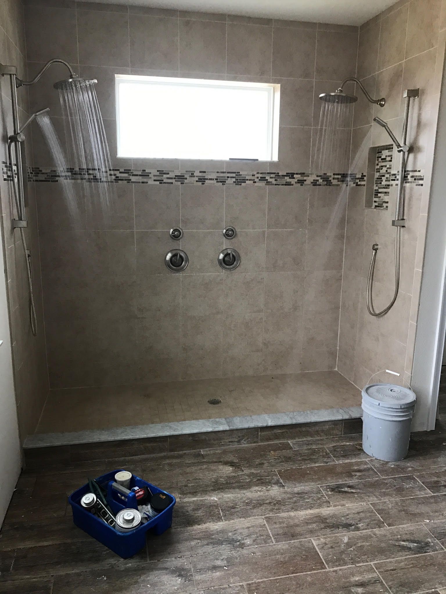 Bathroom Remodeling Project Shower A-1 Southern Plumbing