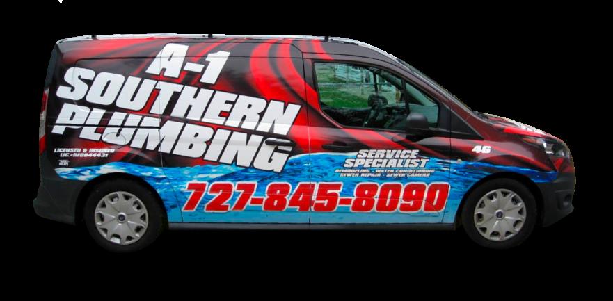 A-1 Southern Plumbing Van